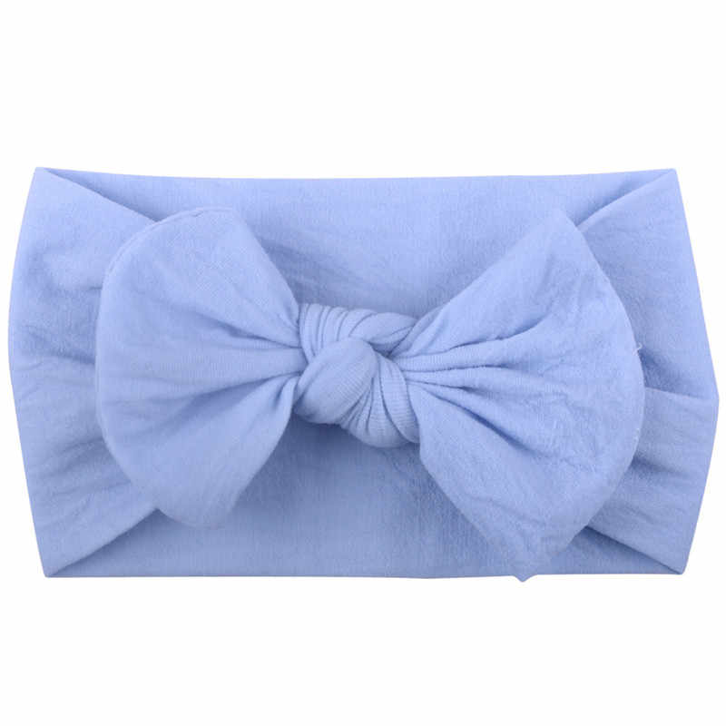 Модная 20 видов цветов повязка на голову с большим бантом, Детские ободки с бантами, повязка на голову для мальчиков и девочек, аксессуары для волос