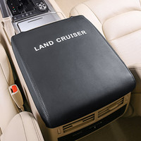 Genuine Leather Front Armrest Box Cover for Toyota Land Cruiser 200 LC200 2008 2009 2010 2011 2012 2013 2014 2015 2016 2017 2018