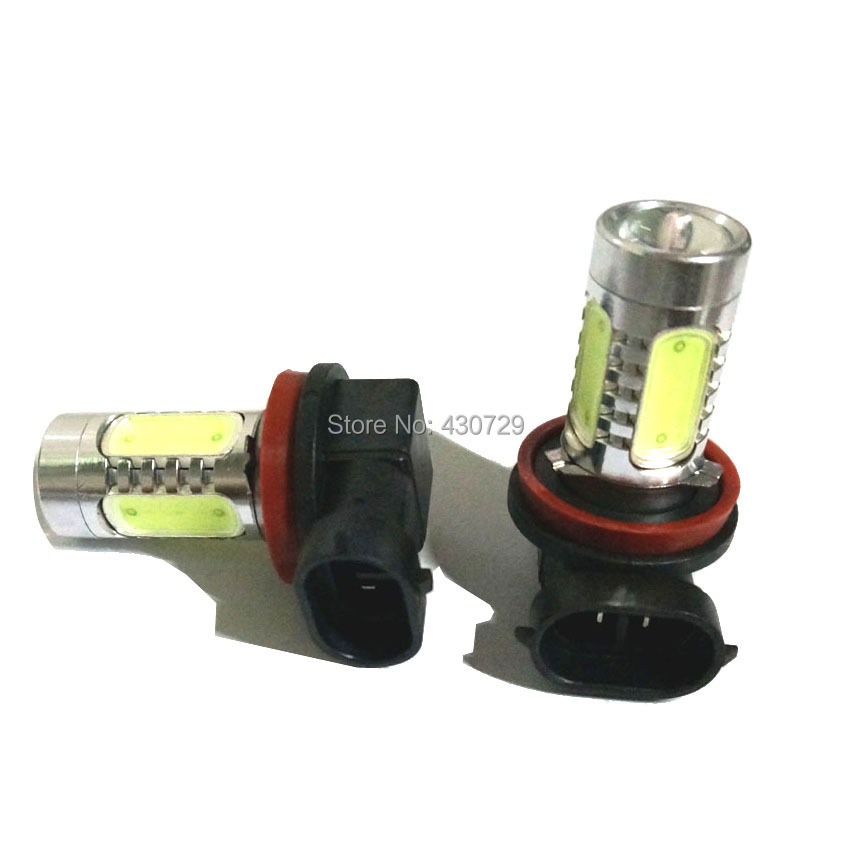 2pcs/lot Top quality High power 7.5W with Lens Buid-In Chip Car H11 - Car Lights - Photo 6