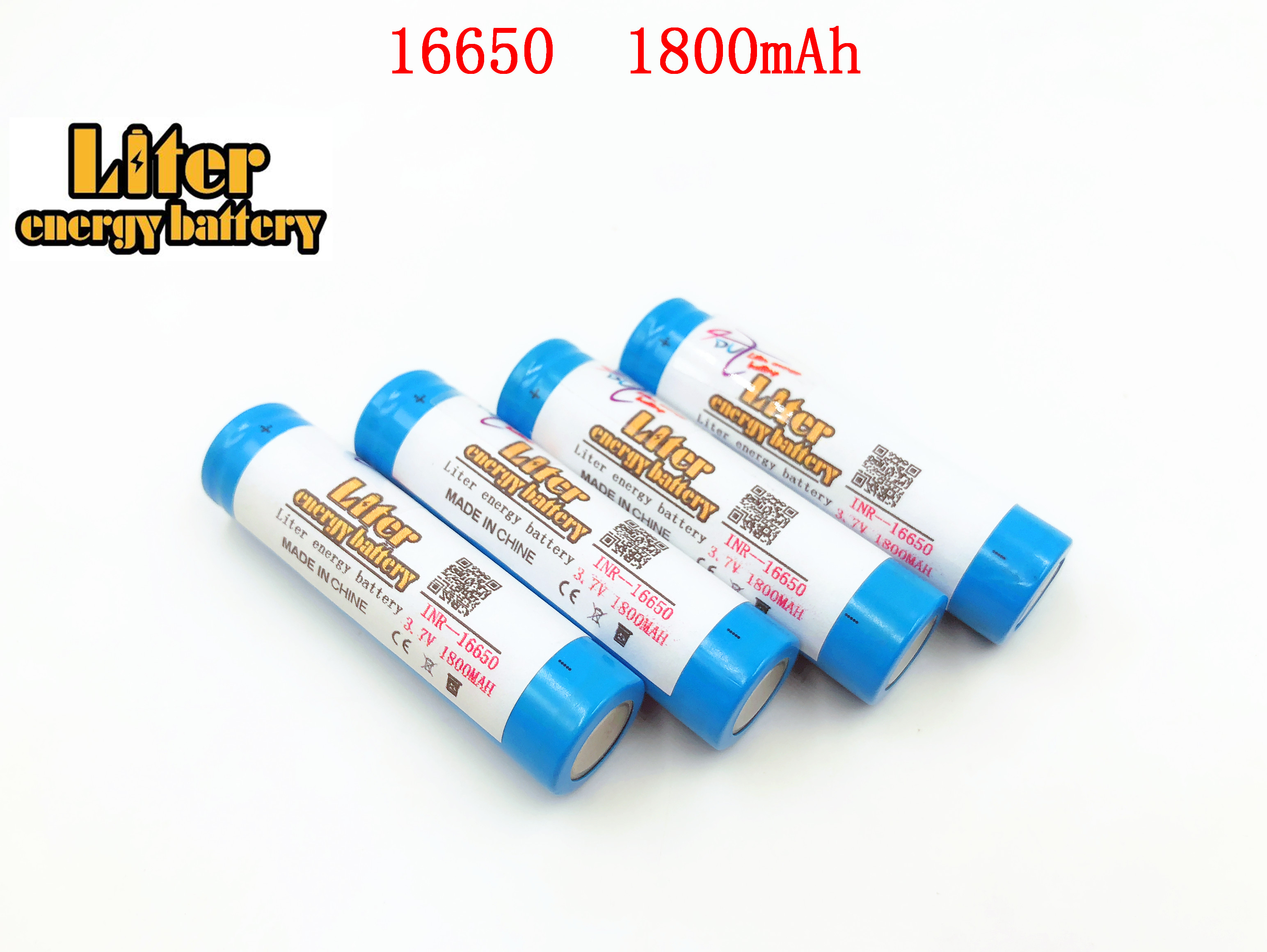 Liter energy <font><b>battery</b></font> Free shipping !!!2PCS/LOT original Keeppower 3.7V <font><b>16650</b></font> 1800mAh Rechargeable Li-ion <font><b>battery</b></font> image