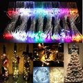 10M 80LEDS Wire LED String Lights Battery Garland Fairy Llights Decoration For Christmas /Wedding Xmas Garland Party