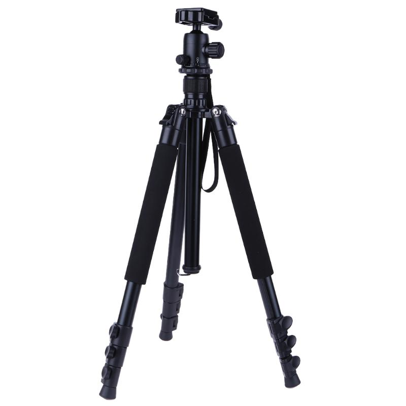 Camera Accessories Tripods Professional SLR Camera Tripod Portable Travel Aluminum Alloy Camera Tripod for SLR DSLR Digital Cam цена