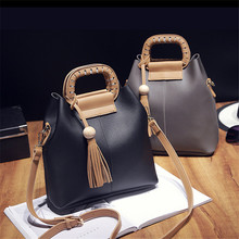 Fashion 2016 women's bags brief picture package two pieces set handbag messenger bag handbags shoulder bags+coin purse