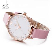 SHENGKE Fashion Simple Wristwatch For Girls Lady Quartz Watch Female Clock Top Brand Women Watches Montre Femme Relogio Feminino