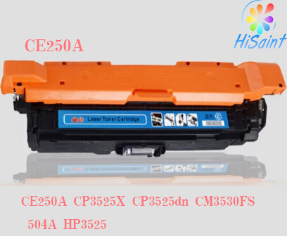 ФОТО Compatible HP Printer Toner Cartridge for HP CP3525 CP3530 CE250A CE251A CE252A CE253A/Refilled Toner for HP Toner CE250X