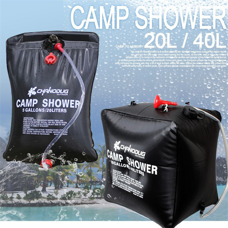 Outdoor Shower Bag Portable Thickening Solar Hot Water Bottle 20l Bath Sun In Tools From Sports Entertainment On