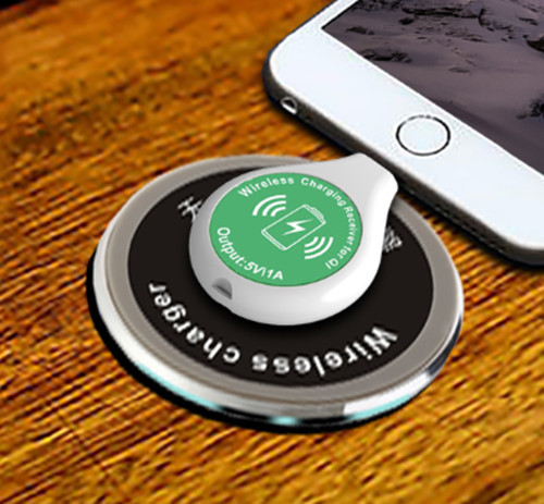 Attrayant Embedded Mini Qi Wireless Table Charger Plate Transmitter Pad + Qi Receiver  Combo