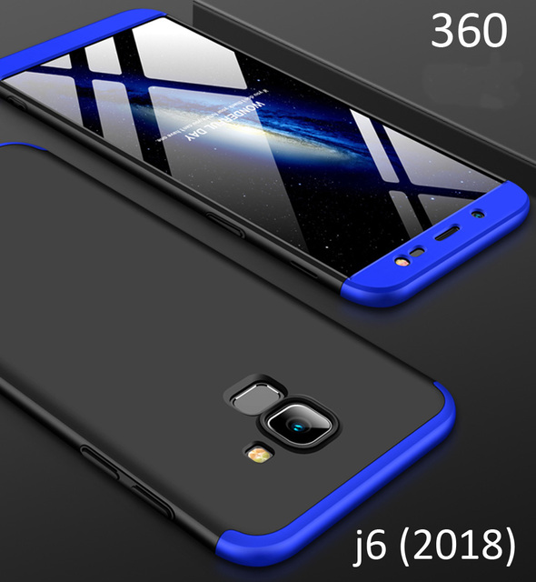 new styles 9f526 7664b US $3.14 30% OFF Aliexpress.com : Buy Case For Samsung Galaxy J6 2018 360  Full Protection Cover J600F from Reliable Fitted Cases suppliers on XNRAPID  ...