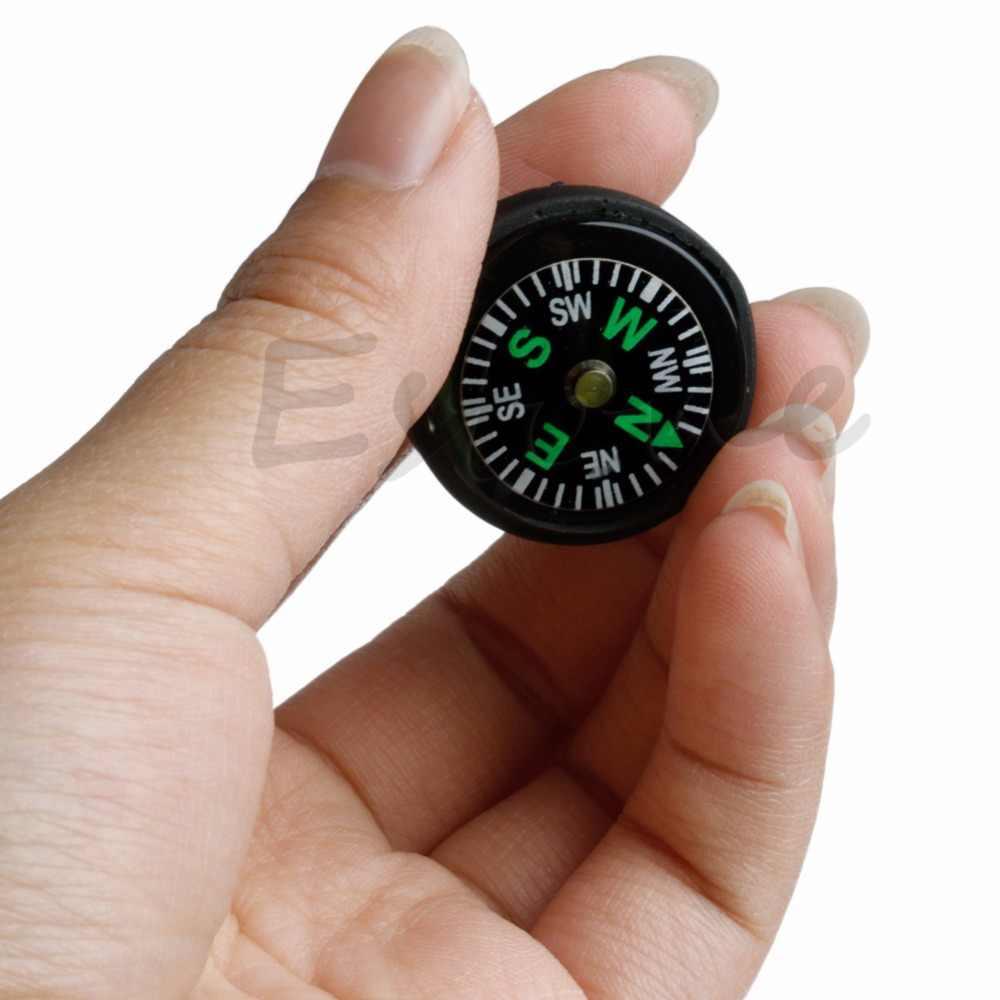 10 יח'\חבילה מיני ניווט Pocket מצפן מסלולי טיולים קמפינג נסיעות אספקת