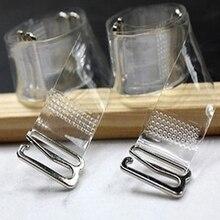 3 пары = 6 шт. металлической пряжкой бретельки бюстгальтера пояс женские эластичные прозрачный силиконовый бюстгальтер ремни регулируемые перевязь Наперсники Аксессуары