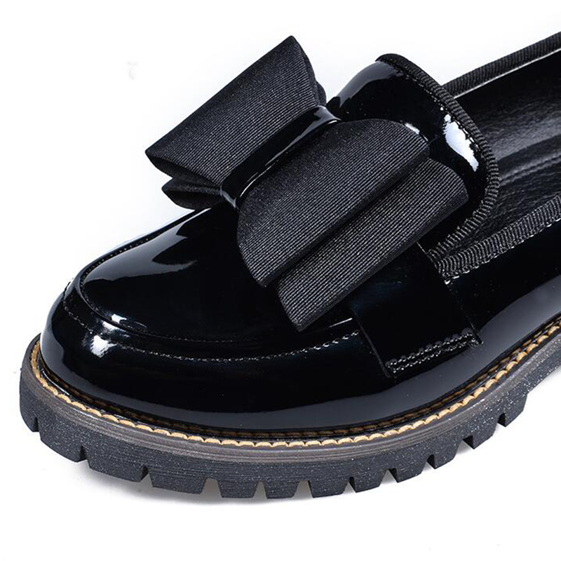 De Estudiantes Slip Oxfords Oxford Los Covoyyar vino Tacón Moda Plataforma Mocasines La Wfs989 Patente Mujeres Cuadrado Pisos En Cuero Zapatos Tinto 2019 Arco Negro nfIxxqv