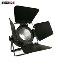 20pcs/lot LED Par COB 100W With Barn Doors High Power Aluminium Case Stage Lighting With 100W Warm White COB For Theater Club