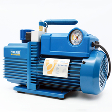 V-I280SV Four 4 LBipolar Refrigerant Vacuum Pump 14.4M3 / H Screen Bonding Vacuum Pump 220V 750W With Solenoid valve orion vacuum pump krx3 p v 03