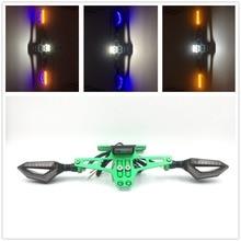 Мотоцикл Регулируемый угол номерных знаков раме руля лампы номер пластина для Kawasaki Z1000SX ER6N/F ниндзя 250R/ 300