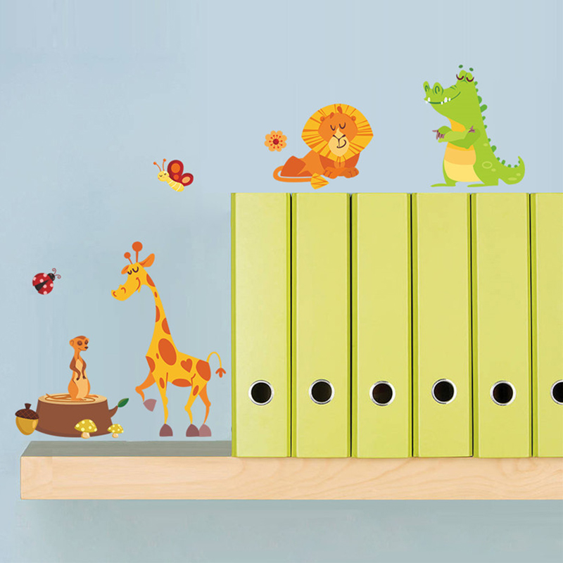 Jungle Animals Wall Decal For Kid S Rooms Nursery Decor