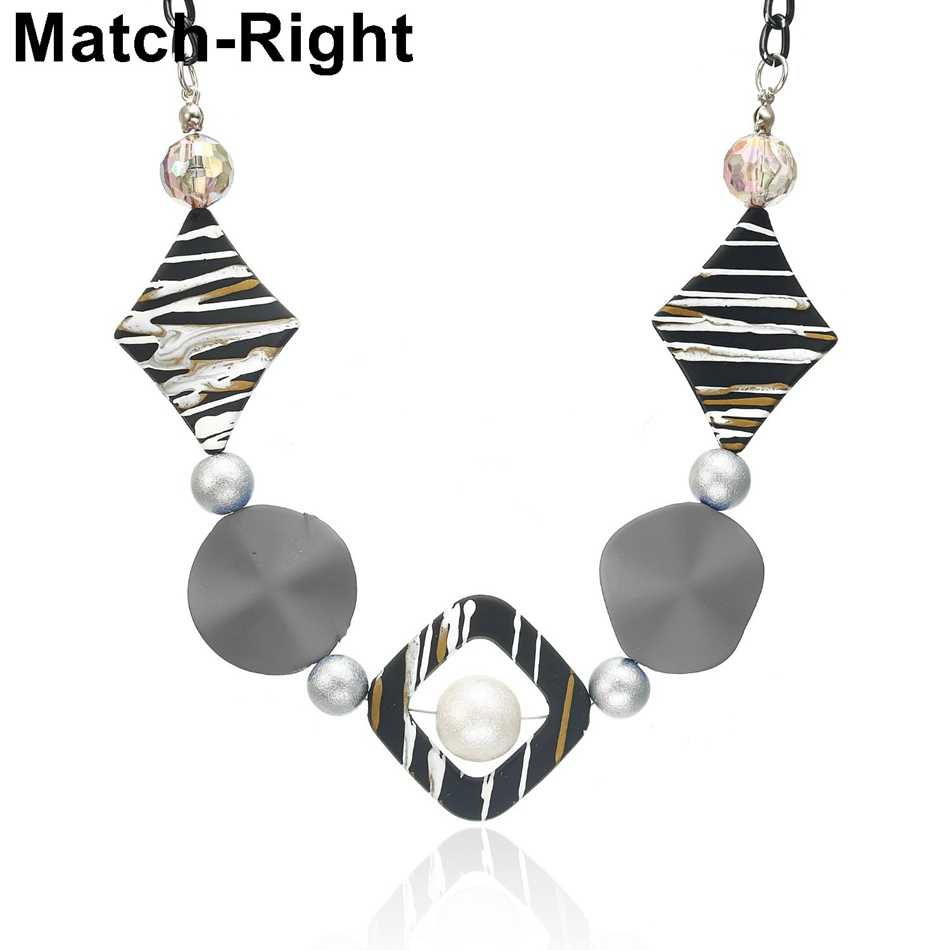 Match-Right Necklaces & Pendants Women/Statement/Beads/Vintage/Lady/Choker Necklace Female Pendant Gifts for Women Jewelry NR167