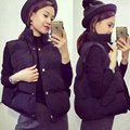Womens  autumn winter coat slim sleeveless thickened Korean Short Cotton Jacket  vest