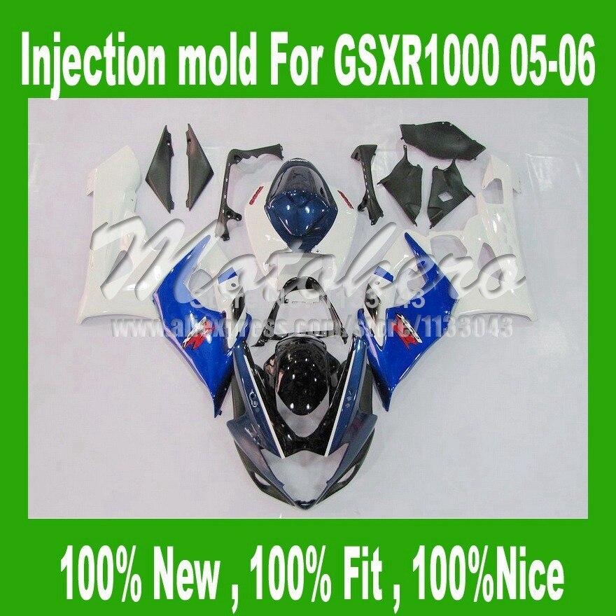 ٩(^‿^)۶Inyección 100% fit carenado para gsxr 1000 05 06 Suzuki GSX ...