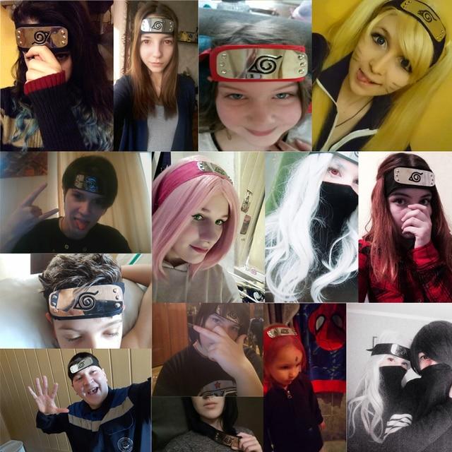 Naruto Forehead Headband Accessories