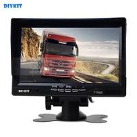 7 Inch HD TFT LCD Car Monitor Display Car Reverse Rear View Monitor Screen AV Input