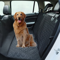 High quality quilted Dog Seat Cover for Cars, dog cover in car Dog Hammock non slip Oxford Waterproof hammock of pets