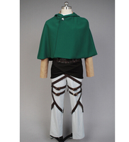 Attack on Titan Levi Ackerman /Rivai Ackerman cosplay costume for women men for halloween carnival full set