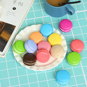 Image 4 - Multiple Colors Macarons Simulated Baking Artificial Bread ins Photography Props DIY Decoration Photo Taking Picture Accessories