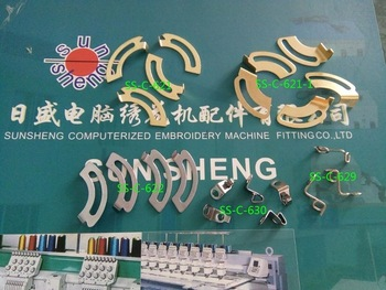 Computer embroidery machine parts - head large copper wire hook alarm, alarm box clamp, wire hook