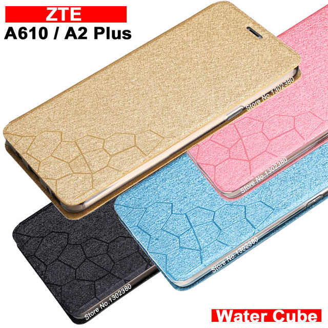 promo code 69f50 3ec16 US $6.99 |Aliexpress.com : Buy ZTE Blade A610 Plus case cover 5.5 inch  leather luxury water cube Pu flip case for ZTE A610 Plus 4 style ZTE Blade  A2 ...