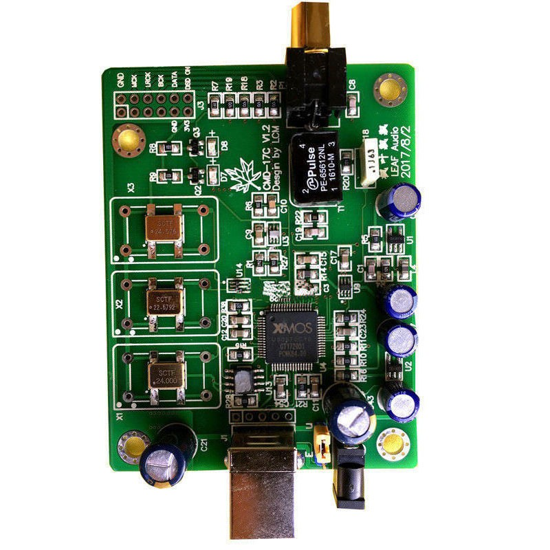 XMOS XU208 Asynchronous USB Digital Interface Coaxial DSDOP IIS Output DSD128 256