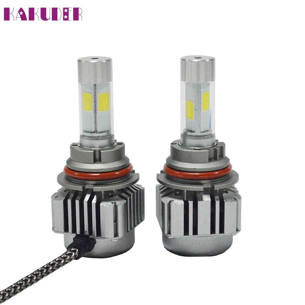 Hot Sale 80W 8000LM LED 9004/9007 Headlight Kit Low Beam Bulb 6000K White Bulbs NOV3 castaleca super light led h7 h4 9005 hb3 9006 h3 h11 h13 9004 9007 auto headlight 6500k 8000lm hi lo single beam car led bulb