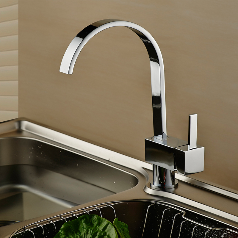 WEYUU New Arrival 360 Degree Rotation Kitchen Faucet Waterfall kitchen Sink Faucet Wholesale And Retail Deck Mount Basin Mixe