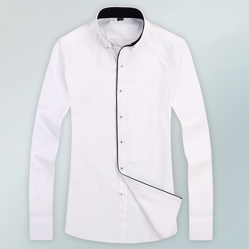 White shirt black buttons south park t shirts for Tuxedo shirt black buttons