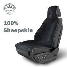 OKAYDA Cover Seat car front Full Sheepskin fur New Arrival Universal size free shipping accessories High Quality