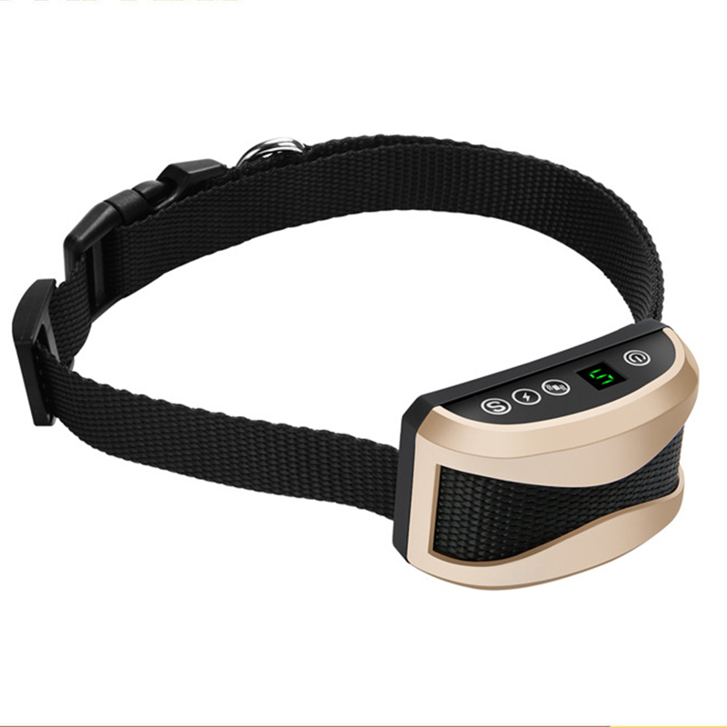 Electronic Automatic Dog Training Collars Stop Barking Collar With LED Digital Display Vibration Charging Electric Shock Collars3