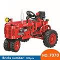 Конструктор Winner 7070  302 шт.  классические строительные блоки из старого трактора  обучающие игрушки для детей  забавный подарок