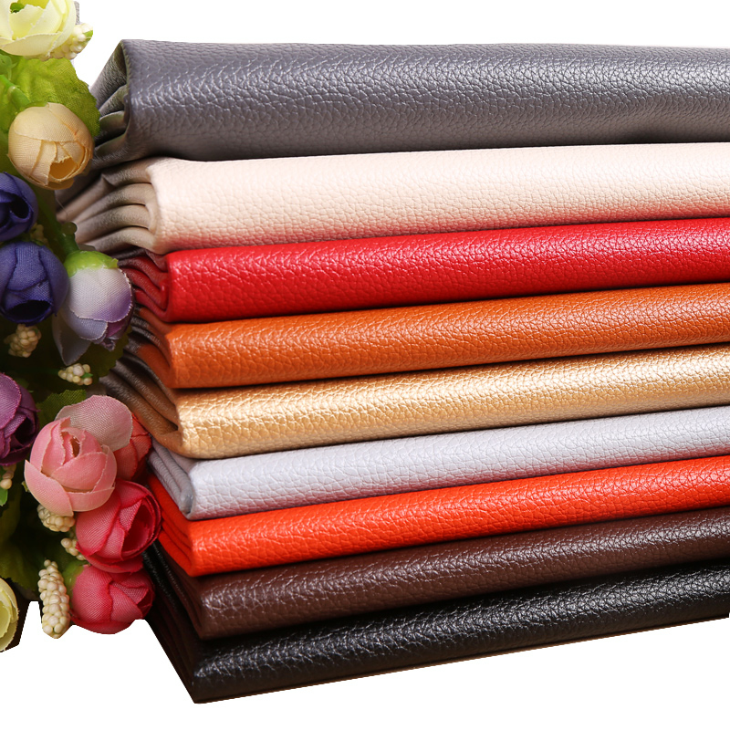 Leather Fabric use for Soft Bag Sofa small Car Interior Imitation l Leather 50cmx70cm