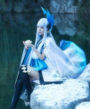 купить Onmyoji Yukionna Wake up before Cosplay costume D дешево