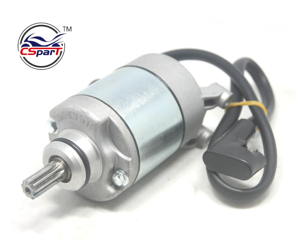 US $73 6 20% OFF|NC250 Starter Motor 250CC ZongShen ZS177MM xmotos apollo  KAYO T6 BSE 250 4 valve dirt pit bike-in ATV Parts & Accessories from