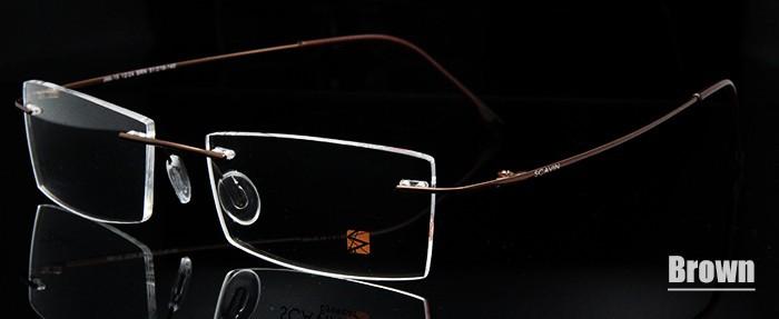 Titanium Eyeglasses Rimless (8)