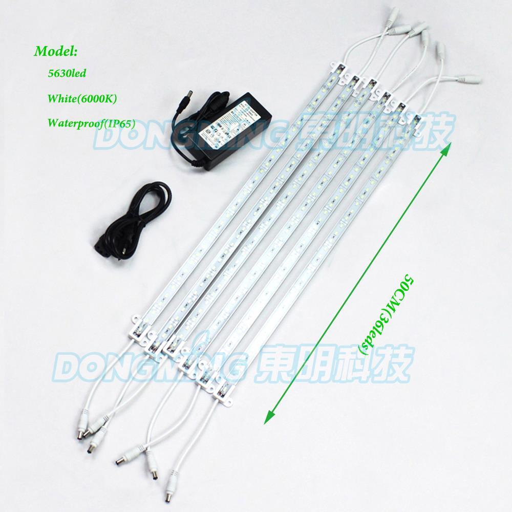 12 Volt Led Light Strips Led Strips 220v Aquarium 5630: LED Rigid Strip 5630 SMD 36 LEDs Waterproof With U Groove