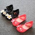 Mini Sed children shoes children girls sandals summer kids Jelly sandal soft bottom shoes child Non-slip Cartoon sandals
