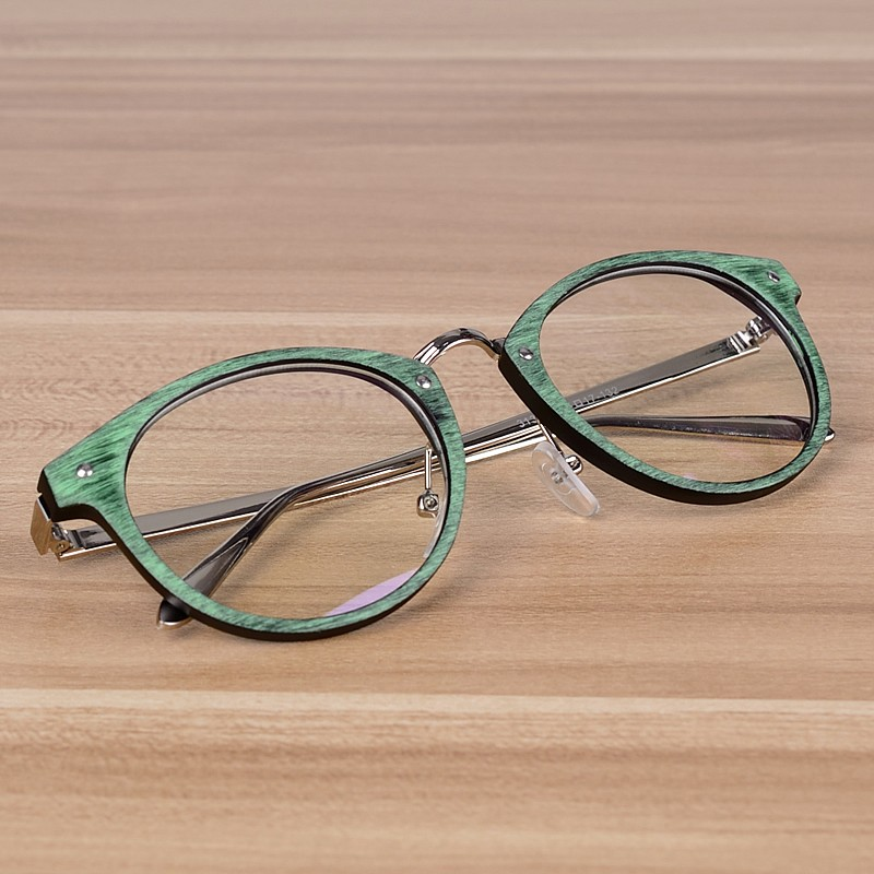 NOSSA Vintage Body Brýle Retro Pánské a Dámské krátkozraké brýle Rámy Mužské dioptrické brýle Brýle Brýle