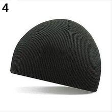 НОВЫЕ ТОВАРЫ НОВЫЕ ТОВАРЫ Мужчины Женщины Шляпа Хип-Хоп Шерстяной Пряжи Вязаная Шапка Шапка Теплая Зима Манжеты Hat