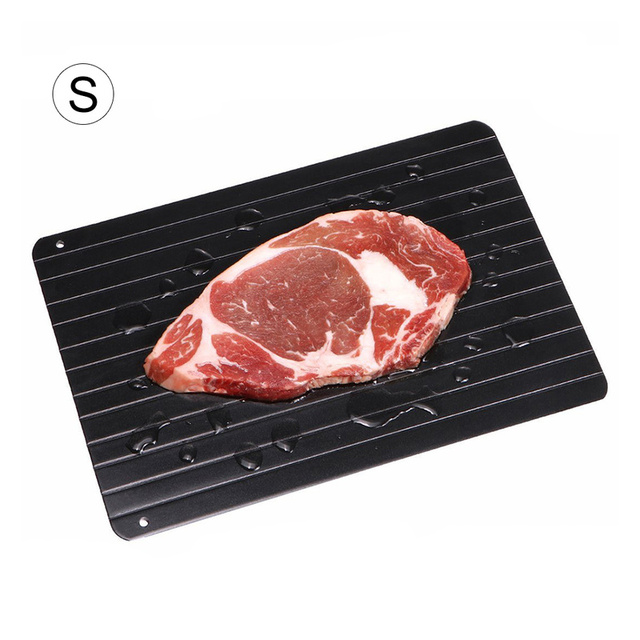 Meat Thawing Tray Thaw Frozen Foods Meat Fish in minutes