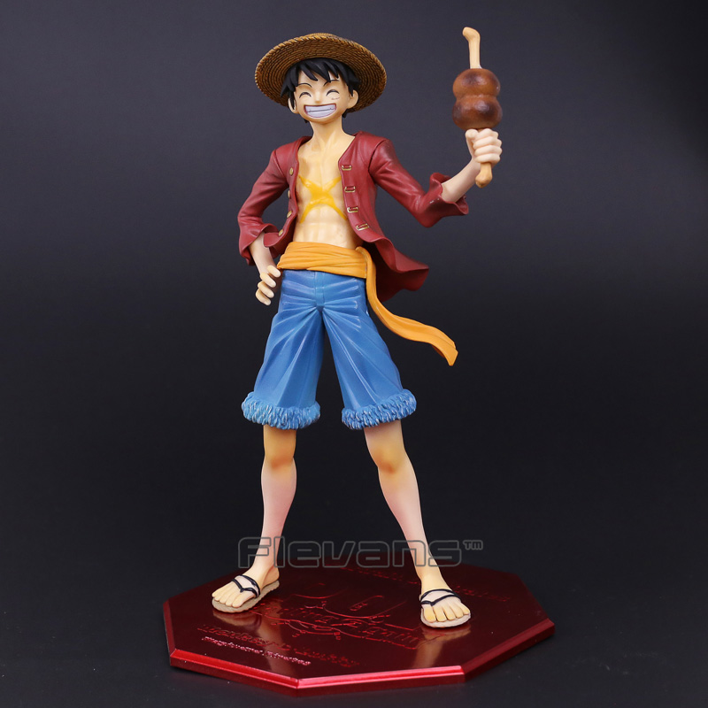 Anime One Piece Monkey D Luffy Ver. 20th POP Limited Edition PVC Figure Collectible Model Toy 23cm