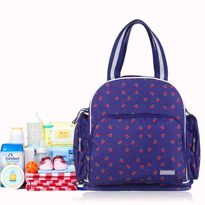 Heine Backpack Bag For Mom Mummy Bag Shoulders Mother Baby Diaper Nurse Nappy Bag Fashion High Quality Pregnant Women борцовка с полной запечаткой printio композиция питер мондриан