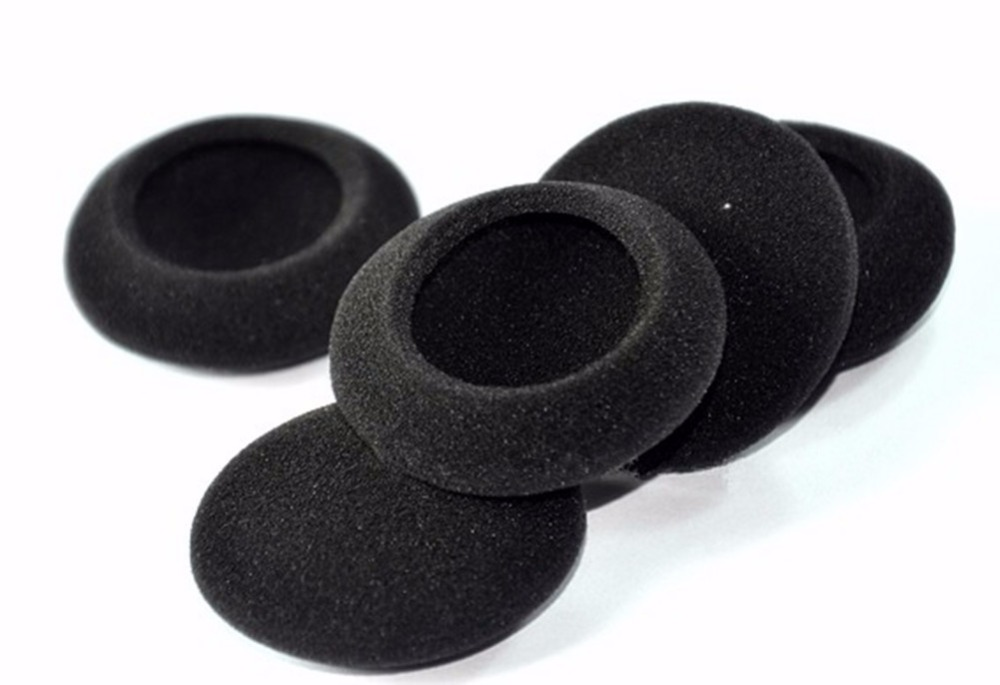 5 Pairs Replacement Foam Ear Pads Earpads Cup Cover Cushion for Sennheiser HD-470 HD 470 HD470 Headphones Headset