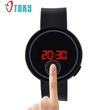 OTOKY Wrist Watch For Men Women Fashion LED Touch Screen Wristwatches Silicone Male Clock Hours Gift 1pcs