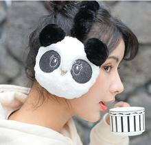 дешево!  Зимняя милая панда наушник наушник теплее-белый 5шт